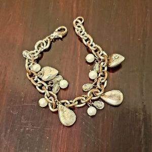 Small mini charm chain costume bracelet